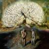 Adán y Eva expulsados del Paraíso
